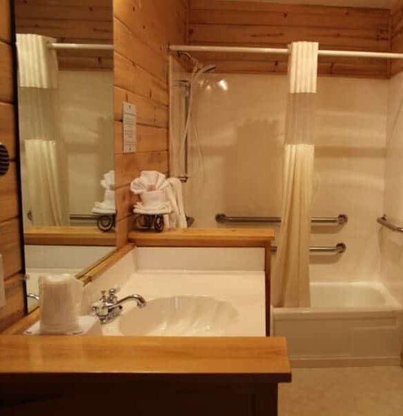 Log Rooms, Georgetown Mountain Inn